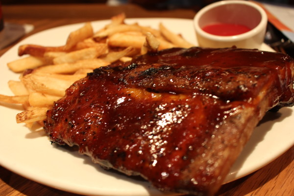 Outback Steakhouse Baby Back Ribs with Aussie Fries