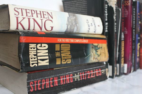Stephen King is #1 on My Top-Ten List of Authors, but...
