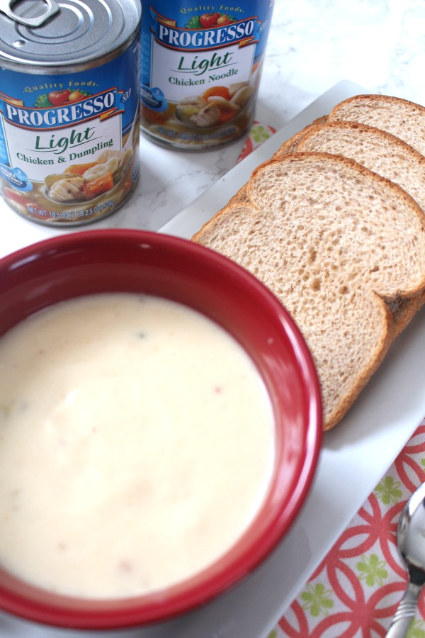 Eating Healthier with Progresso Light Soup