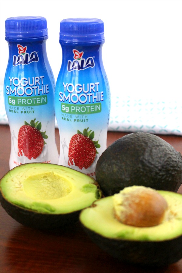 Two Ingredient Healthy Avocado Smoothie