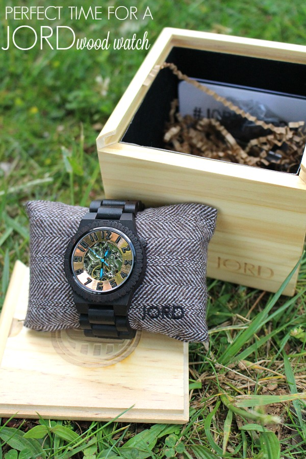 Perfect Time for a JORD Wood Watch
