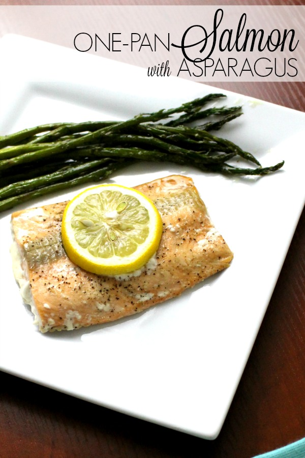 One-Pan Salmon with Asparagus
