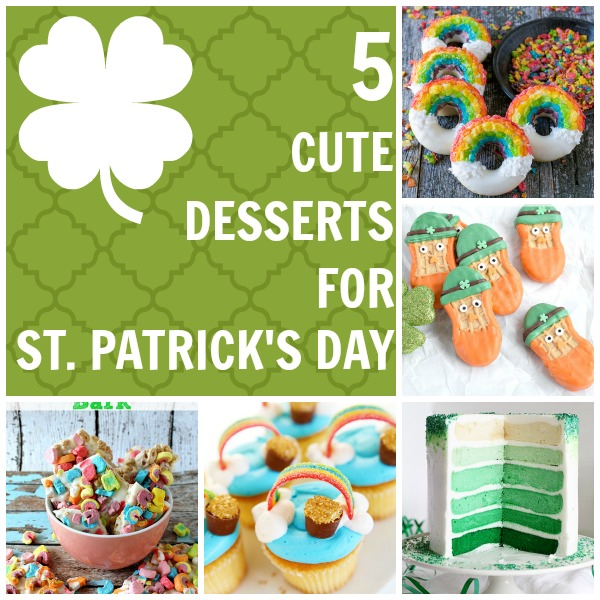 5 Cute Desserts for St. Patrick's Day
