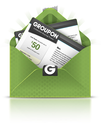 Groupon = More Money in Your Pocket