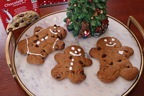 Immaculate Chocolate Chip Gingerbread Man Cookies A Thousand