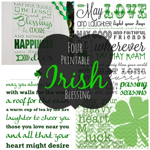 photograph relating to Printable Irish Blessing identify 4 Printable Irish Blessings - A Thousand Nation Streets